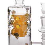 Honey Supply Honeycomb Fab Body Tube with Implosion Marble