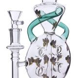 Honey Supply Stacked Swiss Recycler with Inverted Perc