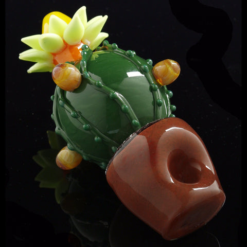 Flowering Cactus Pipe