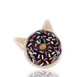 Empire Glassworks Glazed Kitty Donut Hand Pipe