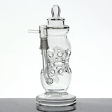 """The Swiss Bottle"" Fab Egg Style Baby Bottle Rig with Polished Joint"