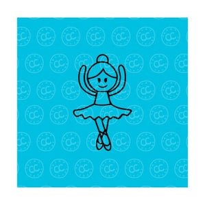 Ballerina PYO Silk Screen