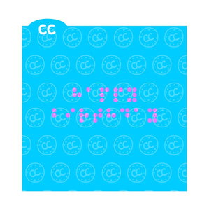 Braille Cookie Stencil