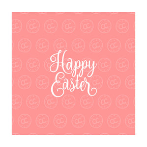 Happy Easter Silk Screen