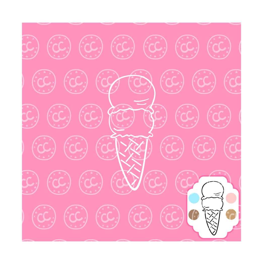 Ice Cream PYO Silk Screen