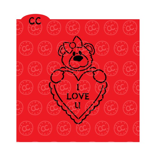Valentine Girl Bear PYO