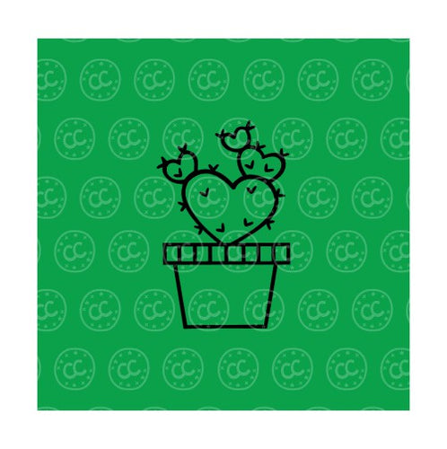Valentine Cactus PYO Silk Screen