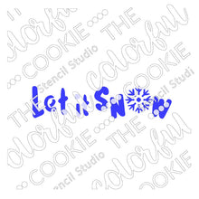 Cookie Stick Cookie Stencil
