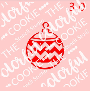 Christmas cookie stencil