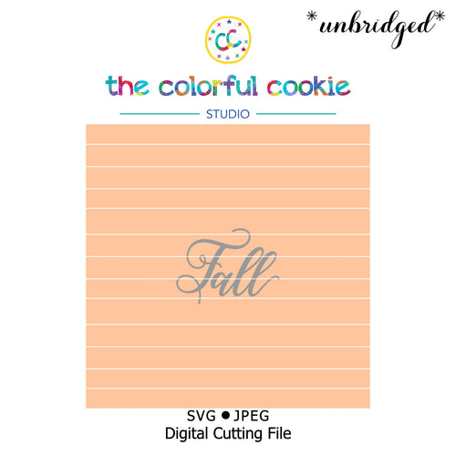 fall cookie stencil download svg