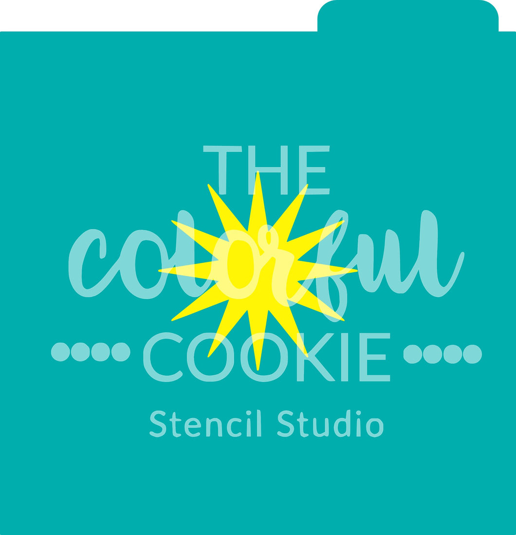 Cookie stencil svg