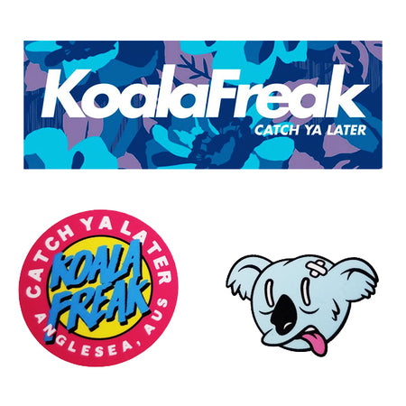 Koala Freak Sticker Pack