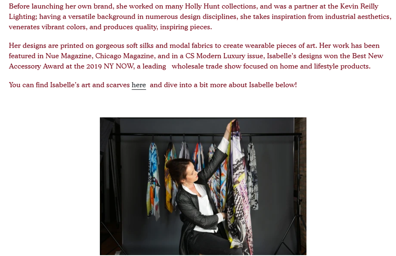 isabelle gougenheim designs art works article