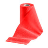 Tack Wraps 4in Red Compression Bandage