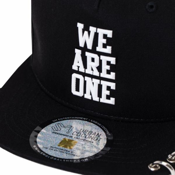 EXO We Are One Snapback Hat with Long Strap and Rings