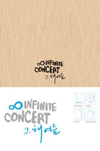 "인피니트Infinite - 2012 Infinite Concert ""That Summer"" (3DVD + Photobook + Pouch + Photocard) (Limited Edition) (Korea Version)"