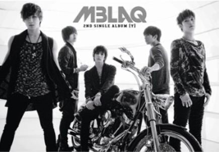엠블랙 MBLAQ 2nd Single Album - [Y]