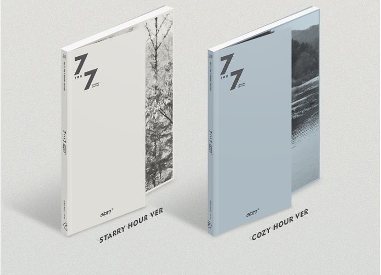 [Pre-Order] 갓세븐 GOT7 - 7 FOR 7 PRESENT EDITION