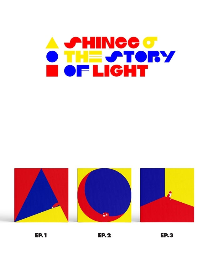 샤이니 SHINEE 6TH ALBUM - THE STORY OF LIGHT EP.1