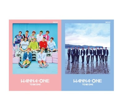 Wanna One 1st Mini Album - 1×1=1 (To Be One)