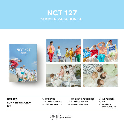 [Pre-Order] 2019 NCT127 SUMMER VACATION KIT