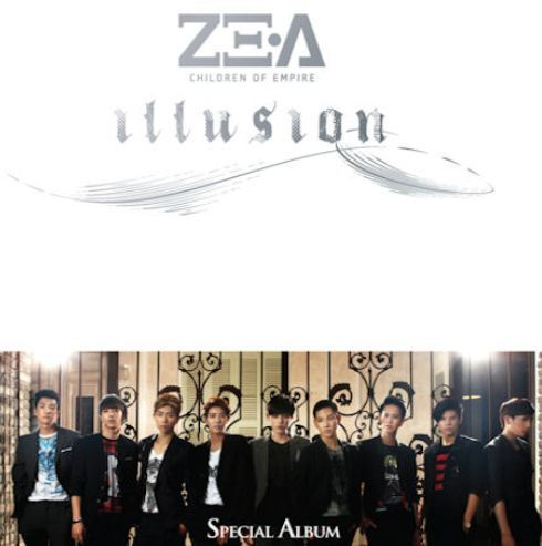 제국의아이들 ZE:A Mini Album - Illusion (CD + DVD) (Special Edition) (Limited Edition)