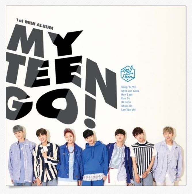 마이틴MY TEEN - MYTEEN GO! (1st Mini Album)