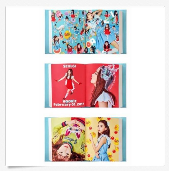 레드벨벳 RED VELVET 4TH MINI ALBUM - ROOKIE