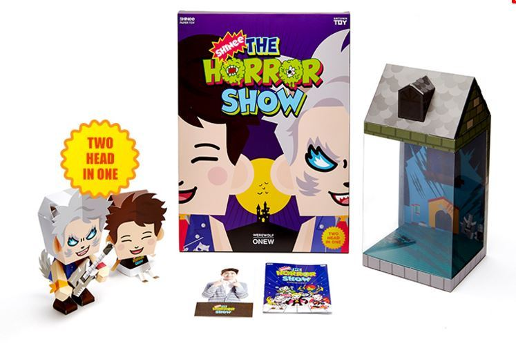 SHINee - Paper Toy Official [SHINee The Horror SHOW] (ONEW)