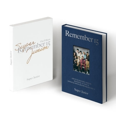 Super Junior 15th Anniversary Photobook 'Remember 15'