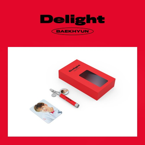 [Pre-Order] BAEKHYUN Delight Official Merchandise - PHOTO PROJECTION KEYRING