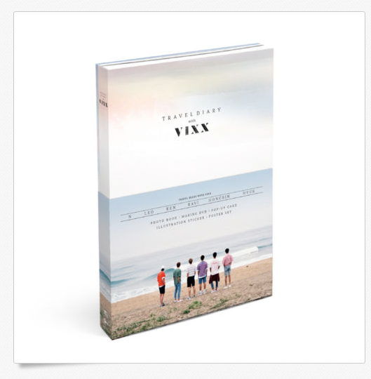 ] 빅스 VIXX - 2016 Photobook Travel Diary  with VIXX+MAKING DVD