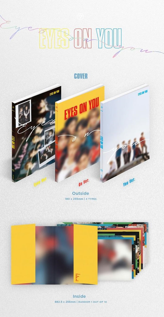 갓세븐 GOT7 MINI ALBUM - Eyes On You