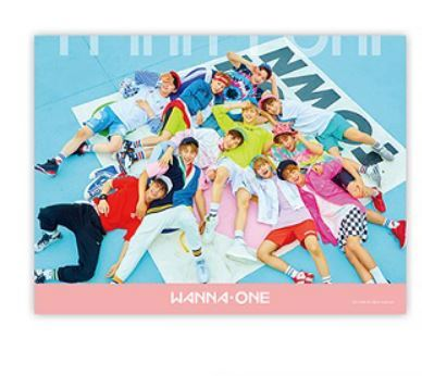 WANNA ONE  PINK Ver POSTER ONLY