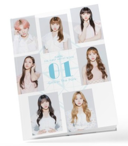 GWSN THE FIRST ARTIST BOOK [01~Girls in the Park~]