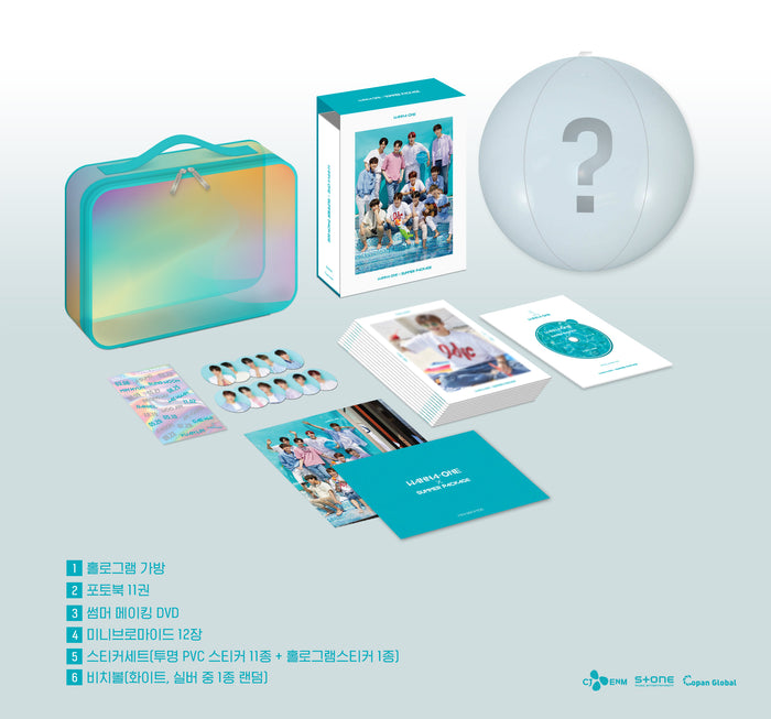 [Pre-Order] 워너원 WANNA-ONE X SUMMER PACKAGE