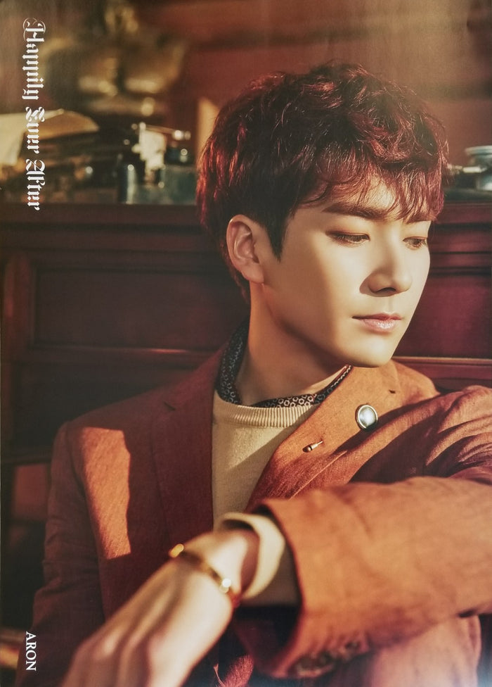 NU'EST 6TH MINI ALBUM - HAPPILY EVER AFTER LIMITED EDITION MEMBER POSTER - ARON