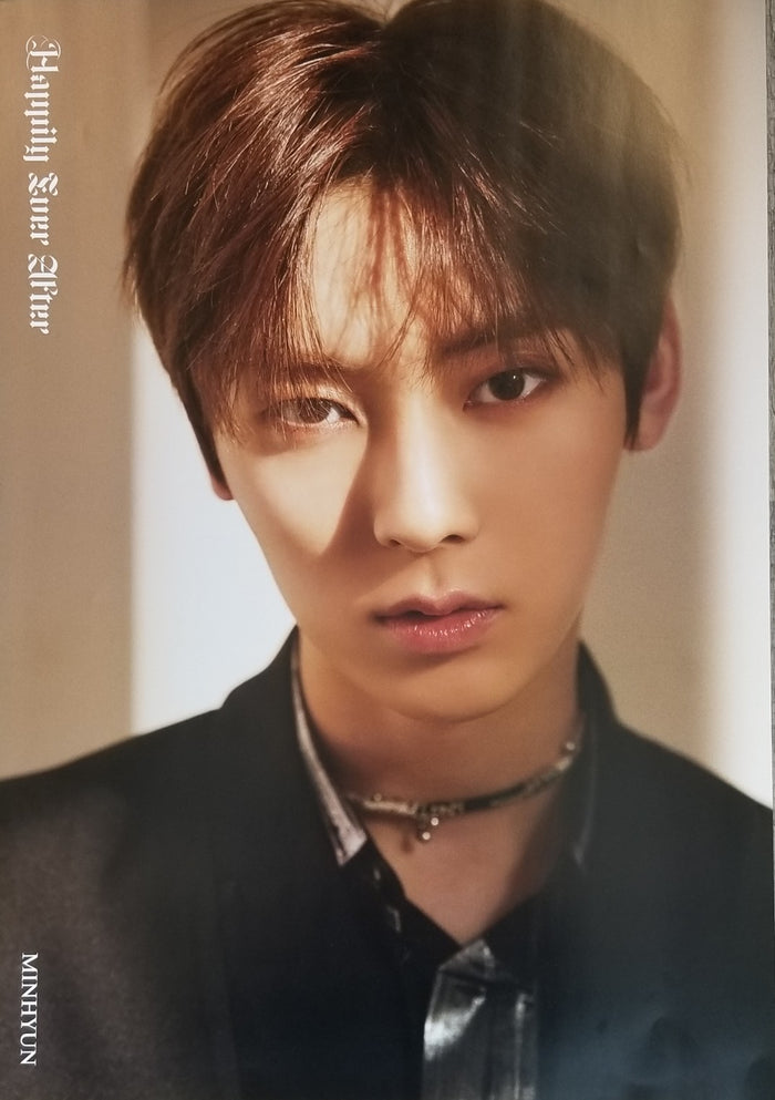 NU'EST 6TH MINI ALBUM - HAPPILY EVER AFTER LIMITED EDITION MEMBER POSTER - MINHYUN