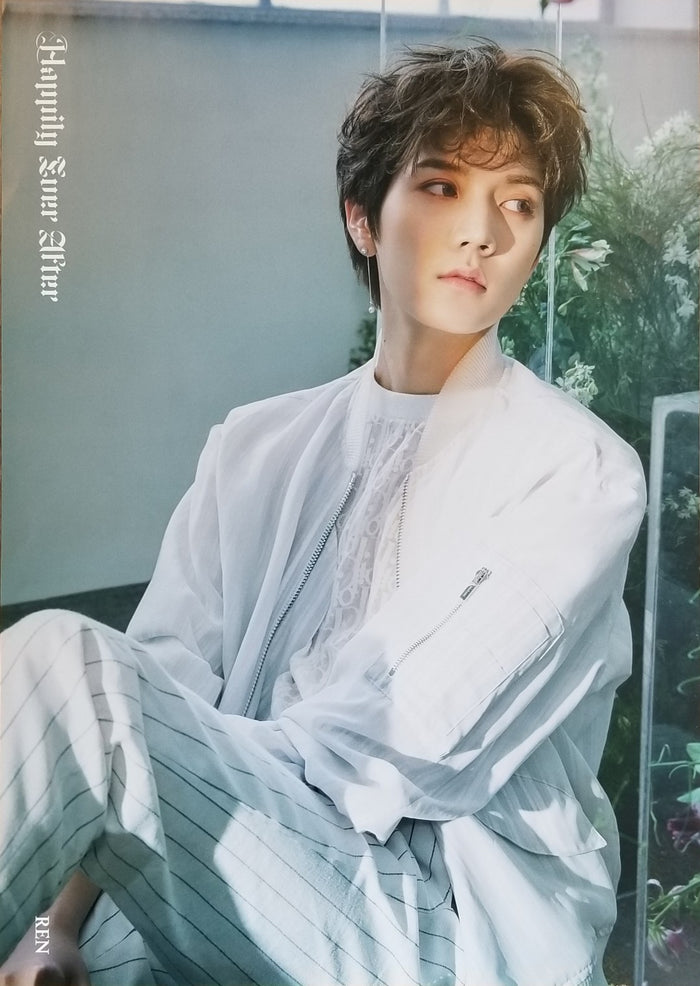 NU'EST 6TH MINI ALBUM - HAPPILY EVER AFTER LIMITED EDITION MEMBER POSTER - REN