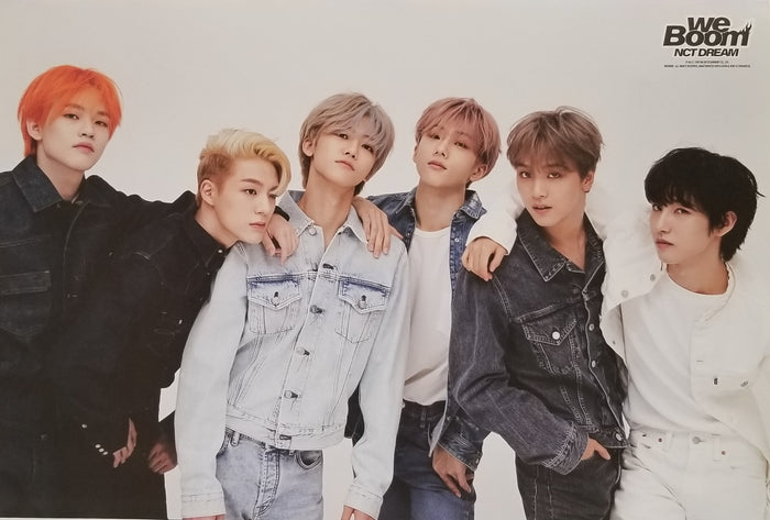 NCT Dream We Boom Official Poster - Photo Concept 3