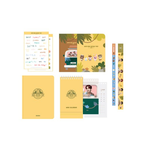 DAY6 Official Merchandise - 2021 SAFARI TRIP AGENDA SET