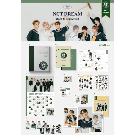 [Pre-Order] NCT DREAM 2021 BACK TO SCHOOL KIT