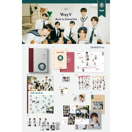 [Pre-Order] WayV 2021 BACK TO SCHOOL KIT