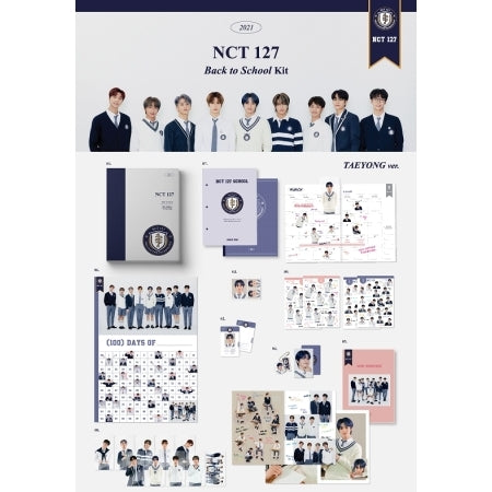 [Pre-Order] NCT 127 2021 BACK TO SCHOOL KIT