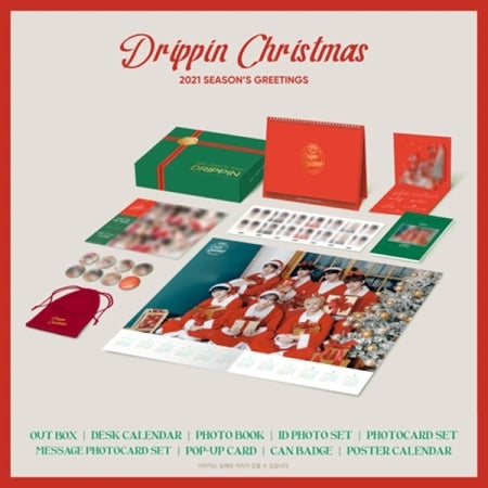[Pre-Order] DRIPPIN 2021 CHRISTMAS PACKAGE
