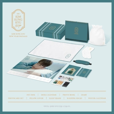 [Pre-Order] KIM SUNG KYU 2021 NEW YEAR PACKAGE