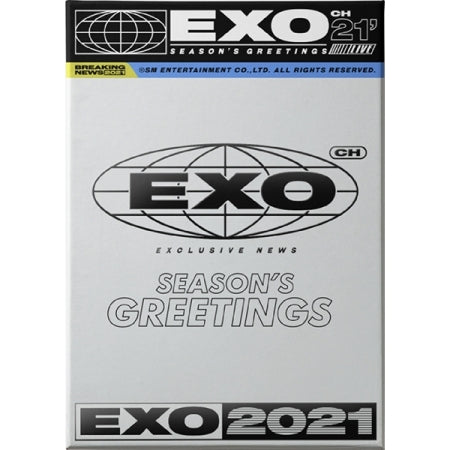 [Pre-Order] EXO 2021 SEASON'S GREETINGS