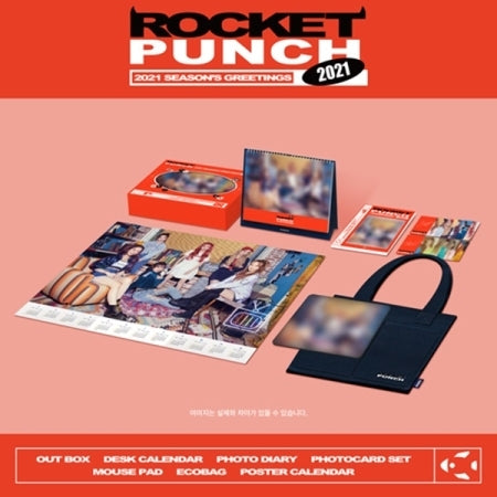 [Pre-Order] ROCKET PUNCH 2021 SEASON'S GREETINGS
