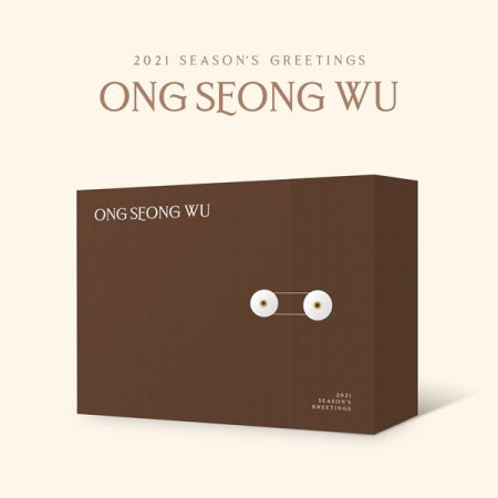 ONG SEONG WU 2021 SEASON'S GREETINGS