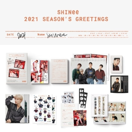 [Pre-Order] SHINEE 2021 SEASON'S GREETINGS